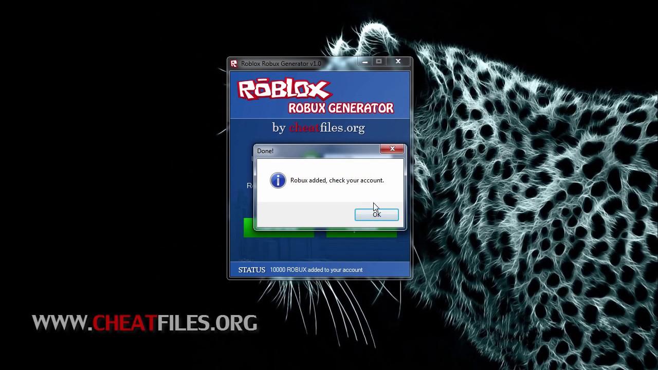 How To Make A Robux Hack Roblox Robux Generator V1 0 Lofasr